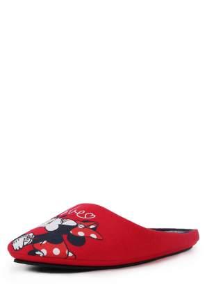 Шлепанцы женские Minnie Mouse 01106270 красные 36 RU