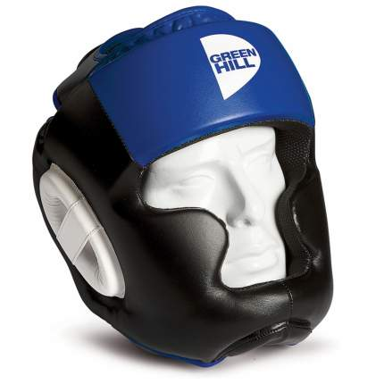 Шлем Green Hill Poise черный/синий M