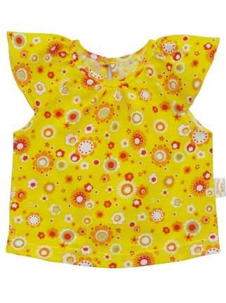 Топ для девочек Желтый кот желтый, размер 98