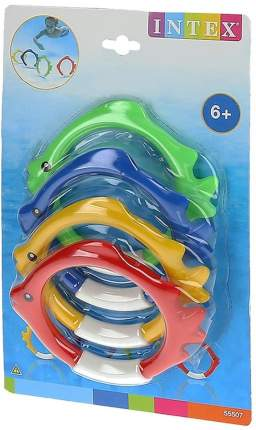 Набор для обучения плаванию INTEX Подводные кольца-рыбки 55507
