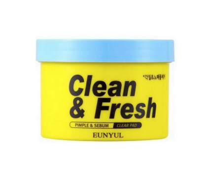 Средство для снятия макияжа Eunyul Clean & fresh pure radiance cleansing pad 170 мл