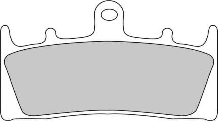 Тормозные колодки передние Ferodo FDB873P для мотоциклов