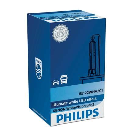 Лампа D3s 42v(35w) White Vision (Gen2) 1шт. Картон Philips арт. 42403WHV2C1
