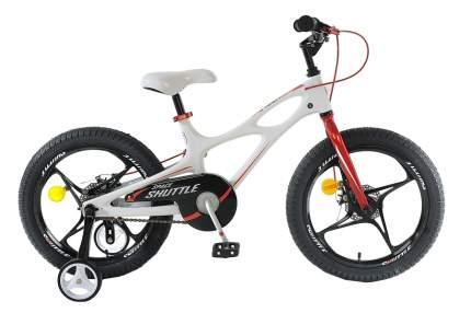 "Детский 2-колесный велосипед Royal Baby Space Shuttle 18"" Белый White"