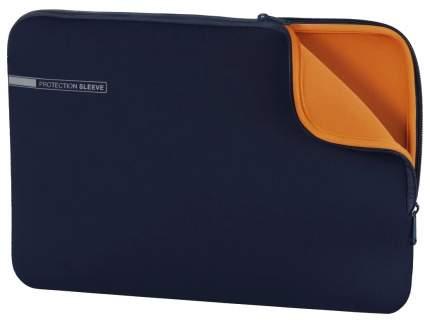"""Чехол для ноутбука 13.3"""" Hama Neoprene синий/оранжевый"""