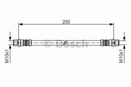 Шланг тормозной системы Bosch 1987476309