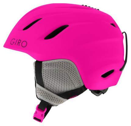 Горнолыжный шлем детский Giro Nine Jr 2019, темно-розовый, M