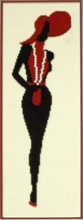 Набор для частичного вышивания бисером Империя бисера ИБ-130 Мадам Шарнель 13х36 см