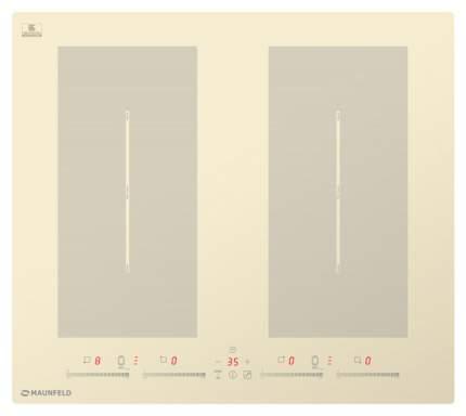 Встраиваемая варочная панель индукционная MAUNFELD EVI.594.FL2(S)-BG Beige