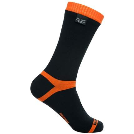 Носки DexShell Waterproof Hytherm PRO 2018 черно-оранжевые, размер 47-49