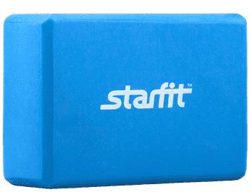 Блок для йоги StarFit из EVA синий