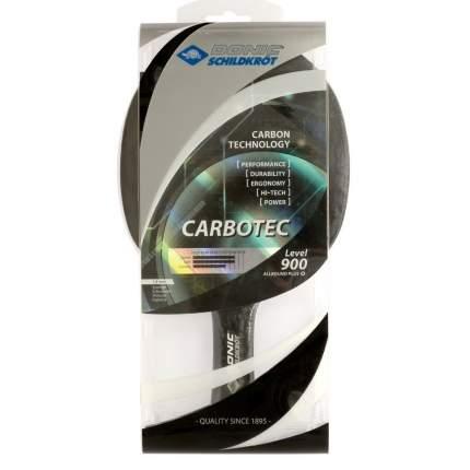 Ракетка для настольного тенниса Donic 758212 Carbotec 900, черно-красная