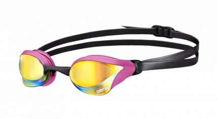 Очки для плавания Arena Cobra Core Mirror 1E492 розовые/желтые (995)