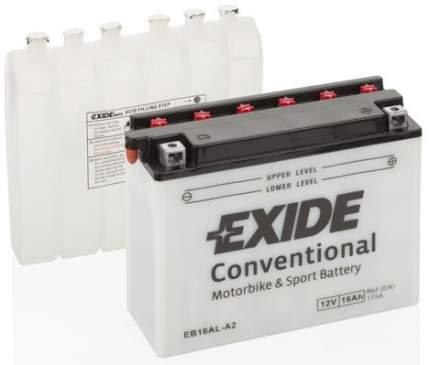 Аккумулятор автомобильный EXIDE EB16AL-A2 16 Ач
