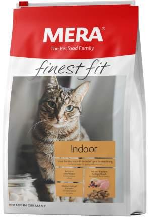 Сухой корм для кошек MERA Finest Fit Indoor, для домашних, курица, 0,4кг