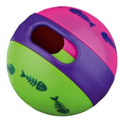 Мяч для лакомств Trixie для кошек (ø 6 см, Зеленый, розовый, пурпурный)