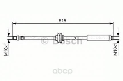 Шланг тормозной Bosch 1987481483