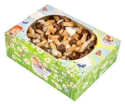 Печенье Ванюшины сладости опята в белой и темной глазури сахарное 400 г