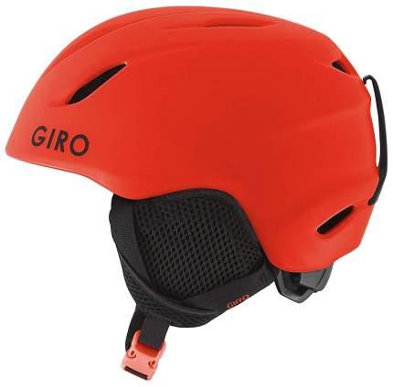 Горнолыжный шлем детский Giro Launch Plus Jr 2019, красный, S