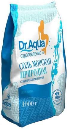 Соль для ванн Dr, Aqua природная 1000 г