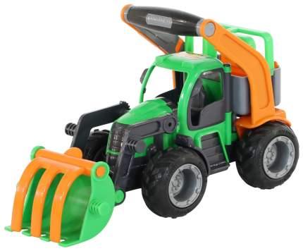 """Трактор-погрузчик с полуприцепом Wader """"ГрипТрак"""""""