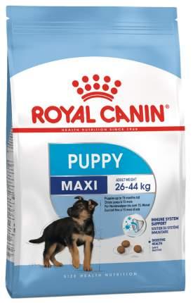 Сухой корм для щенков ROYAL CANIN Puppy Maxi, птица, рис, 15кг