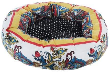 Лежак для животных Родные Места Ватрушка Звезда Востока 50x50x15 см 3224610