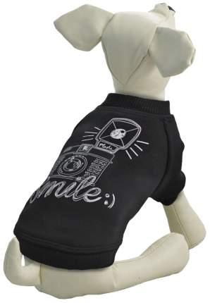 Толстовка для собак Triol размер L унисекс, черный, длина спины 35 см