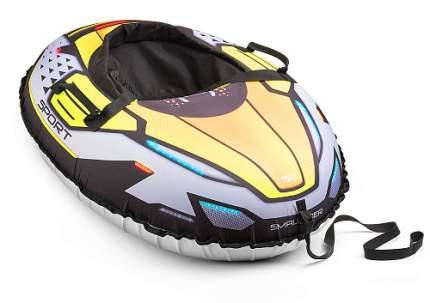 Надувные санки-тюбинг Small Rider Asteroid Sport зеленый