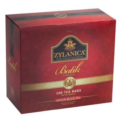 Чай черный Zylanica batik design 100 пакетиков