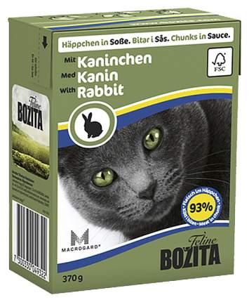 Влажный корм для кошек Bozita in Sauce with Rabbit, 370 г