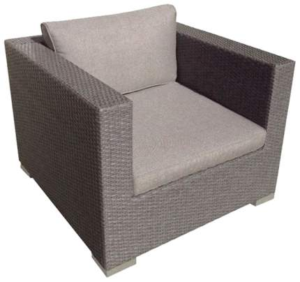 Кресло для гостиной Brafab 66х88х88 см, серый