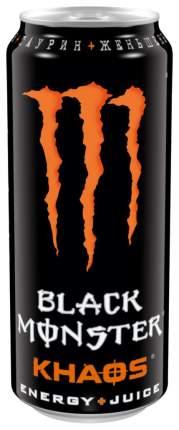 Напиток Black Monster энергетический  khaos 0.5 л
