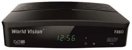 DVB-T2 приставка World Vision T55D black