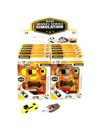 Конструктор пластиковый Junfa Toys Собери машинку 959-38