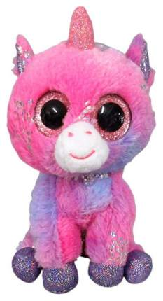 Мягкая игрушка ABtoys Единорог светло-фиолетовый 15 см