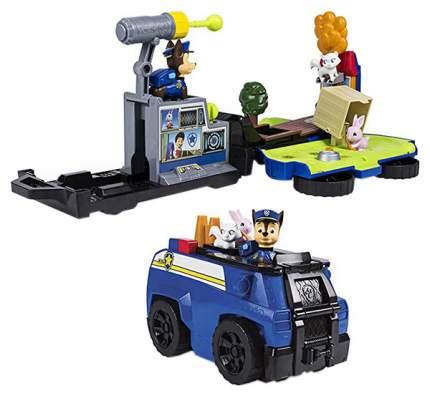 Игровой набор Paw Patrol 6046797-Cha Спасательная станция - трансформер Чейз