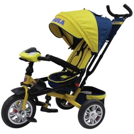 Велосипед трёхколёсный Formula жёлтый FA5Y