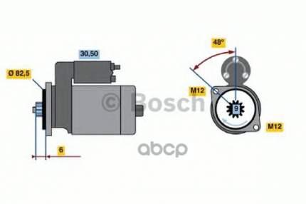 стартер Bosch 0986020370