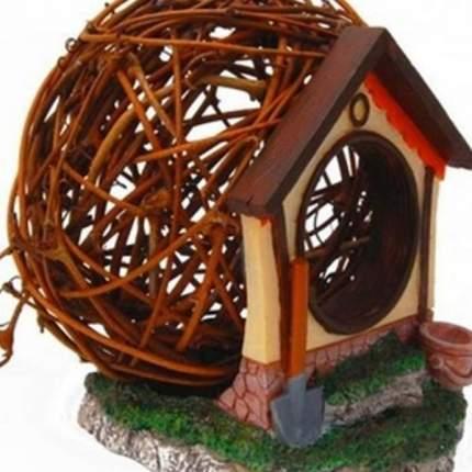 Дом для грызунов FAUNA international MOUSE HOUSE, дерево/пластик