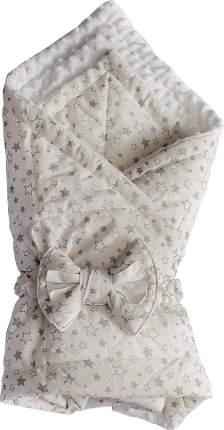 Конверт-одеяло SlingMe Звездный десант белый