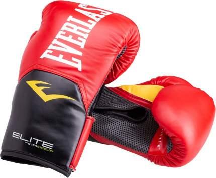 Боксерские перчатки Everlast Elite ProStyle красные 12 унций