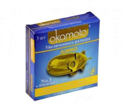 Презервативы Okamoto Jumbo 3 шт.