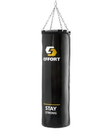 Мешок боксерский Effort E253, тент, 25 кг, черный