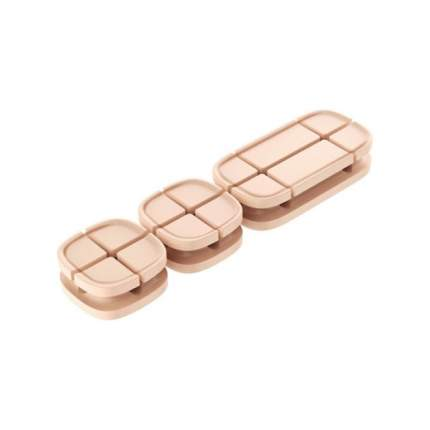 Держатель-зажим Baseus Cross Peas Cable Clip Gold
