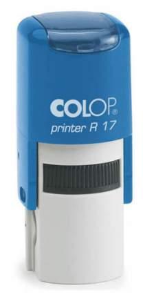 Оснастка для печати Colop Printer R17. Цвет корпуса: синий.
