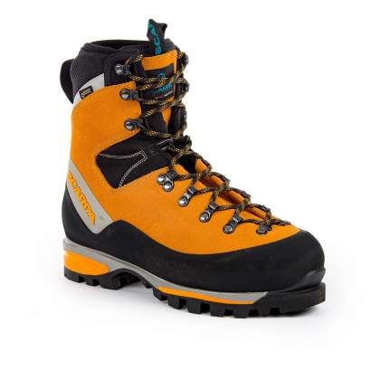Ботинки мужские Scarpa Mont Blanc GTX, suede orange, 46.5 EU