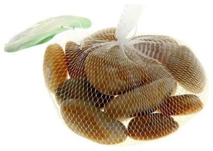 Грунт для аквариума ЭКОгрунт Галька полированная Желтая 3 - 5 см 1кг