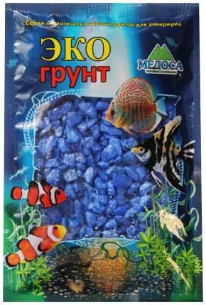 Грунт для аквариума ЭКОгрунт Мраморная крошка Синяя 5 - 10 мм 3,5 кг