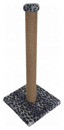 Когтеточка Зооник Пушок Столбик Серый леопард 65 см